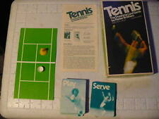 VINTAGE TOY BOXED TENNIS THE SMASHING CARD GAME- Parker Brothers. NICE BOX #740