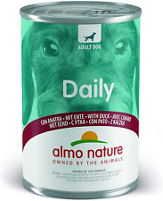 More details for almo nature daily menu dog with duck, 400 g, pack of 24
