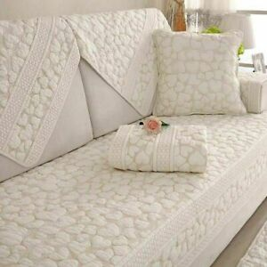 Double-sided Cotton Sofa Covers Cushion Towel Modern Simple Corner Couch Cover