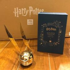 Harry Potter Collectors Edition Golden Snitch Gold Clock Best Potterhead GIFT