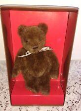 Gund 1995 COLLECTOR'S TEDDY BEAR-mai rimosso dalla scatola-regalo di Natale