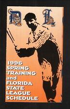 Lakeland Tigers--1996 Pocket Schedule--w/Tigers Spring Training--Southwest Air