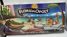 Vintage 1997 FloridaOpoly Monopoly Board Game Sunshine State New Sealed Complete
