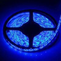 5M 3528 SMD Blue 300 Led Strip Light Waterproof Car 12V 16.4ft Lamp Tape