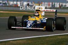 THIERRY BOUTSEN Williams FW13B British Grand Prix 1990 Fotografia