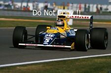Thierry Boutsen Williams FW13B British Grand Prix 1990 Photograph