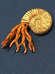 Schleich Ammonite model figure dinosaur era