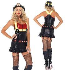 Hot Spot Honey Costume, Leg Avenue, 8-14, Sexy Fire Girl, Fireman, Emergency