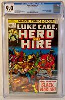Luke Cage Hero For Hire 5 1973 CGC 9.0 1st App Black Mariah - Billy Graham Cover