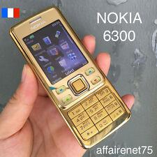 Téléphone Portable NOKIA 6300 GOLD OR radio mp3 video Neuf Débloqué