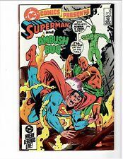 DC Comics Presents #81  May 1985 Superman & Ambush Bug  High Grade Copy!!