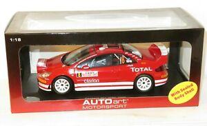 1/18 Peugeot 307 WRC (+ Nightlights) Rally Monte Carlo 2005 #8 M.Martin / M.Park