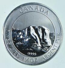 2013 1.5 Troy Oz .999 Silver POLAR BEAR Canadian Canada $8.00 *170
