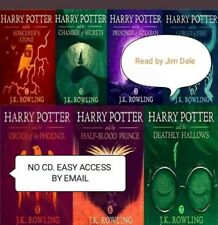 HARRY POTTER AUDIO BOOK FULL SET VOLUME (1-7)