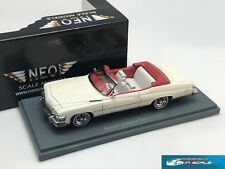 Buick Le Sabre 2d convertible White 1974 NEO44121 1/43