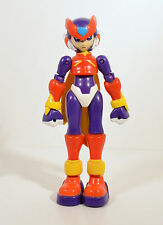 "2005 Purple Zero Version 2 Megaman 6"" Jazwares Capcom Action Figure Mega Man"