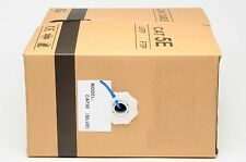 1000 feet CAT5E LAN Ethernet Cable / Pull Box UTP Cat-5e Solid Network Wire Blue