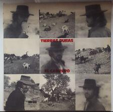 """EL CABRERO """"TIERRAS DURAS"""" RARE SPANISH 12"""" VINYL / FLAMENCO - CANTE JONDO"""