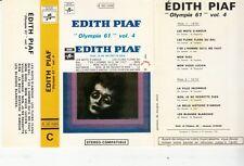 K 7 AUDIO (TAPE)  EDITH PIAF *OLYMPIA 61* (BIEM 60'S)