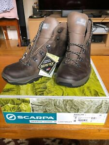 Scarpa Terra GTX leather boots brown AU 12/UK 11/US 12/Euro 46 **NEW IN BOX**