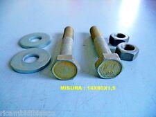 BULLONI/RONDELLE/DADO ORIGINALI FIAT EPOCA DIAMETRO 14X80 mm