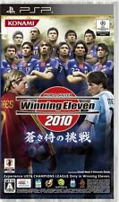 Used PSP KONAMI Winning Eleven 2010 Aoki Samurai  SONY PLAYSTATION JAPAN IMPORT