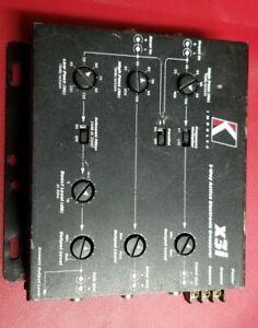 Kicker x3i electronic crossover