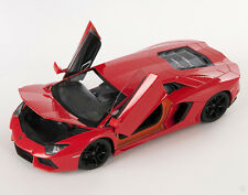BLITZ VERSAND Lamborghini Aventador LP700-4 orange 1:24 Welly Modell Auto NEU