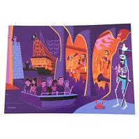 Disney Frameable Art Unused Postcard Pirates of the Caribbean SHAG