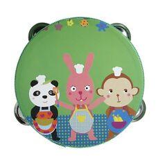 Cartoon Handbell Tambourine Clap Drum Kids Toy HY