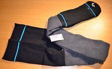 ATHLETA Cascade Heavy Heather Rib Sweater Boot Tights (Charcoal) Small/Medium