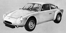 1966 Abarth Simca 2000 Factory Photo J4509