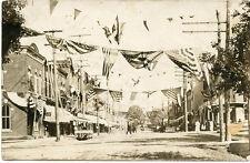 RPPC NY Elmira Patriotic Street Chemung County