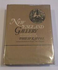 NEW ENGLAND GALLERY HC/DJ 1966 Philip Kappel First Edition Sketches Artists - C