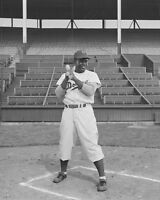 Brooklyn Dodgers JACKIE ROBINSON Glossy 8x10 Photo Baseball Print Vintage Poster