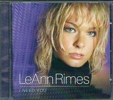 CD ALBUM 13 TITRES--LEANN RIMES--I NEED YOU--2001