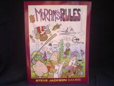 Murphys Rules By Steve Jackson Games NEW