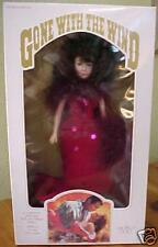 World Doll Gone with the Wind SCARLETT DOLL in red  MIB