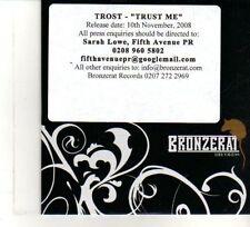 (DW265) Trost, Trust Me - 2008 DJ CD