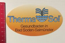 Aufkleber/Sticker: Therma Sol - Gesundbaden In Bad Soden Salmünster (280316145)