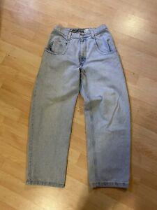 Vintage JNCO The Low Down Jeans Denim Rare USA 30 X 32 Men's 90s Light Wash