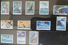 australian antarctic territory stamps l23-34 mint not hinged