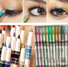 12Color Set Glitter Lip liner Eye Shadow Eyeliner Pencil Pen Cosmetic Makeup New