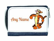 Personalised Denim Purse With Tigger Style Design