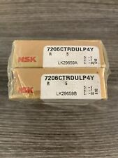 (1) NSK 7206 CTRDULP4Y Super Precision Angular Contact Bearings ***NEW*** Sealed