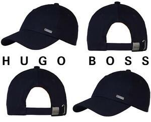 Hugo Boss Mens Forcano-16 Cap Casual Smart Cap Hugo Hat Navy