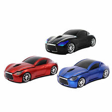 Car Shaped USB Mouse 2.4G Wireless Optical Mouse Mice for Notebook Laptop PC