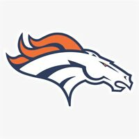 Denver Broncos #1 NFL Logo Die Cut Vinyl Decal Buy 1 Get 2 FREE