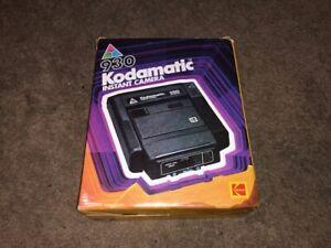 Vintage KODAK 930 KODAMATIC Instant Camera Still In Original Box