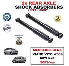 2x Amortiguadores traseros SET PARA MERCEDES BENZ VIANO VITO W639 MPV Bus 2003-